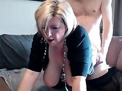 Rhyse Richards humungous boobs blonde mature