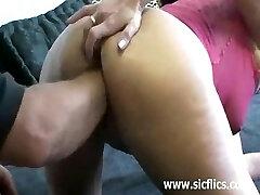 Extremely ferocious vaginal fist fucking penetra