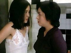 Japanese Dame in a White Slip