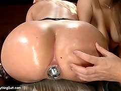 Big ass and big tits anal sluts get stretched open and penetrated deep. Aj Applegate and Alex...