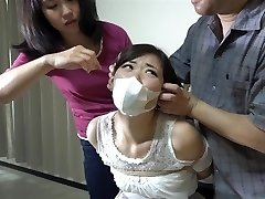 asian girls trussed and gagged