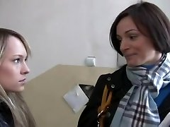 REAL: Making of a Legal Age Teenager Lesbo Pornography Star - Part1 - Cireman