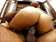 Cute Latina rammed from behind