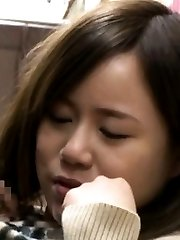 Miyu Kiritani Asian has juicy slit doggy PublicSexJapan.com