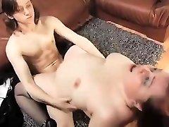 Mature Plumper + Boy 04 From MatureSide