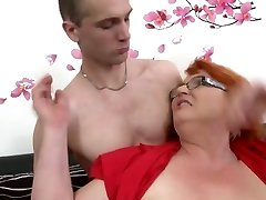 Mature mothers fuck young lovers