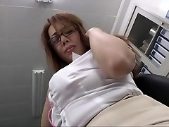 Crazy Asian slut in Best Big Tits, Office JAV video