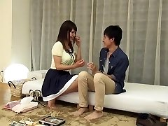 Incredible Japanese model in Fabulous Immense Tits, Massage JAV clip