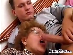 Granny Fucked By Grandson In Law