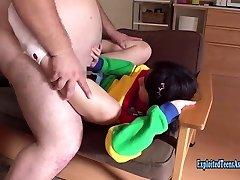 Petite Jav Teen Okita Devoured By Massive Ginormous Guy