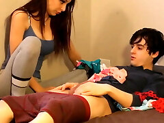 Brother Pummels His Gorgeous and Sexy Stepsister with Facial