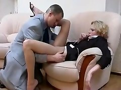 Tights Fetish With Hot Russian Blonde