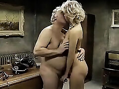 Young lesbian worships feet of the mature doll