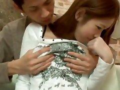 I'm having sex in my Japanese amatur porn clip