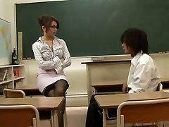 Japanese Lecturer Seduced By Her Student,By Blondelover.