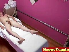 Real oriental massage caught on voyeur