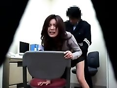 Japanese police station antics where cops get to smash their su