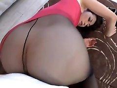 Maki Hojo Teasing And Boning In Stockings Uncensored