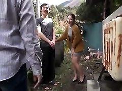 Japanese Teenager Night Outdoor Pussyfingering