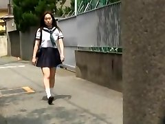 Covert camera action with private schoolteacher messing with his busty hot student