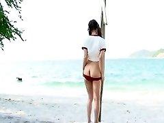 Incredible Erotic tweak with Beach,Straight scenes