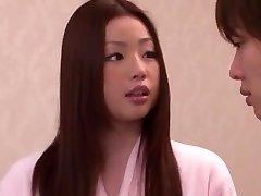 Mischievous Japanese girl Risa Kasumi in Incredible Anilingus JAV movie