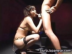 Hot japanese slut rimming some guy partFive