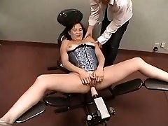 Amateur Plays With Shagging Machine