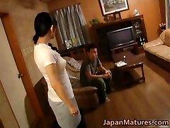 Super-naughty japanese mature babes sucking part4
