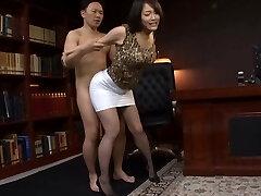 Chinese Office Slut Fucked Hard
