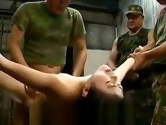 Gripped japanese women abused and gangbanged by soldiers