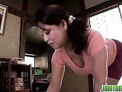 Neko Ayami gets shaved pussy fucked hard