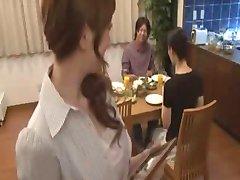 giapponese mamma e figlio non
