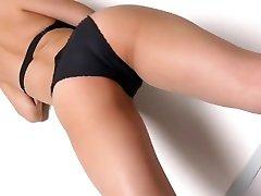 Miyu dancing - glossy bodysuit non-nude