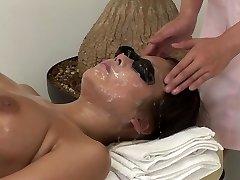 JAV total body bizarre cum facial cumshot massage clinic Subtitled