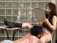 Asian mistress spank