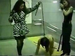 Asian mistress metro slap