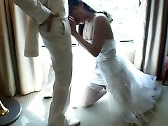 Japanese Tgirl Romps New Spouse After Wedding
