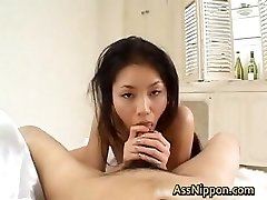 Deepthroats Manhood and Spits Cum part2