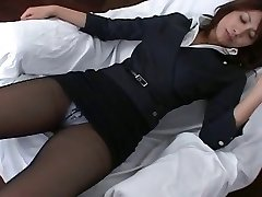 Pantyhose Chinese Office Girl Teasre