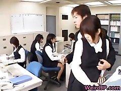 Cute Japanese Secretary Fucked part4