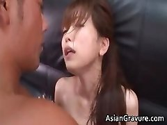 Hot and sexy asian assistant blows rigid partFour