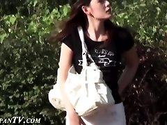 Japanese ho secretly pisses