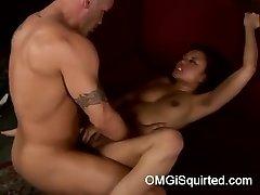 Annie Cruz gets insane and squirts