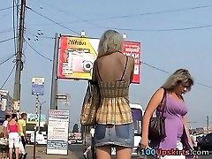 Asian upskirt hidden cam action