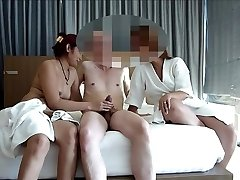 couple share japanese escort for swing asiaNaughty part 1
