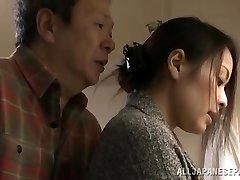 Mina Kanamori hot Japanese milf is a insane housewife