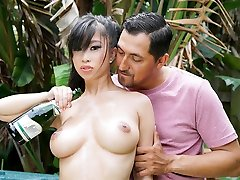 TittyAttack - Hot Asian Babe Titty Fucked
