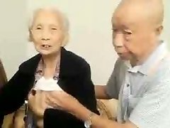 Asian Old Couple