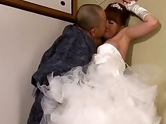Akiho Yoshizawa in Bride Porked by her Dad in Law part 2.2
